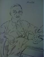 Eugène Aubel par Boris Taslitzky, Visages du XVème congrès du PCF, 1959