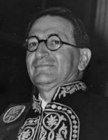 Louis Robert à Athènes le 10 mai 1973. © AIBL